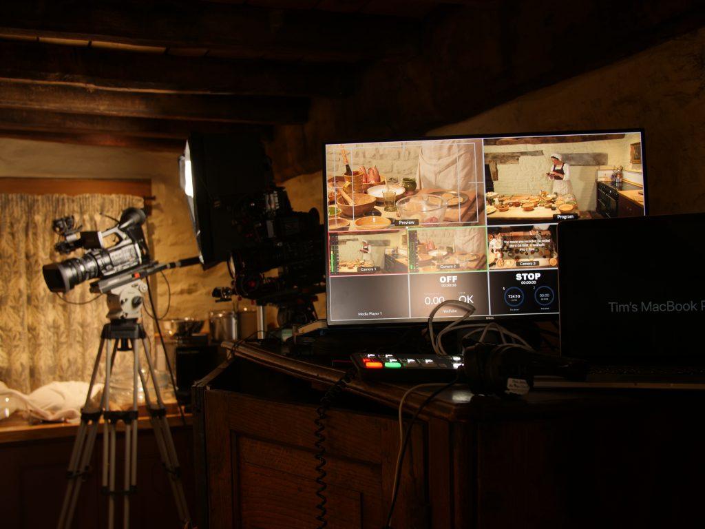 A multi camera shoot for The Landmark Trust